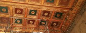 comune di avezzano soffitto restaurato