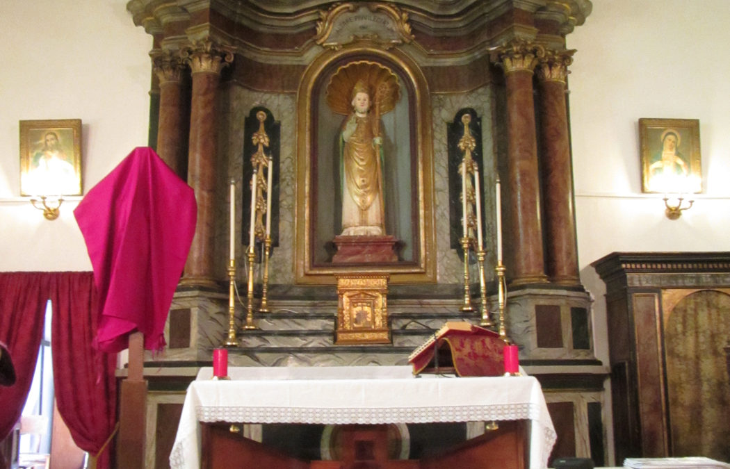 Il restauro del Tabernacolo di San Nicola a Tagliacozzo