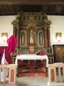Il tabernacolo della chiesa di San Nicola a Tagliacozzo restaurato