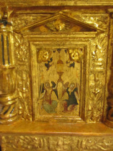il tabernacolo della chiesa di san nicola a tagliacozzo dopo il restauro
