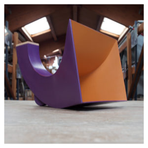 filofono viola arancione laboratorio artigiano ennio gentile avezzano